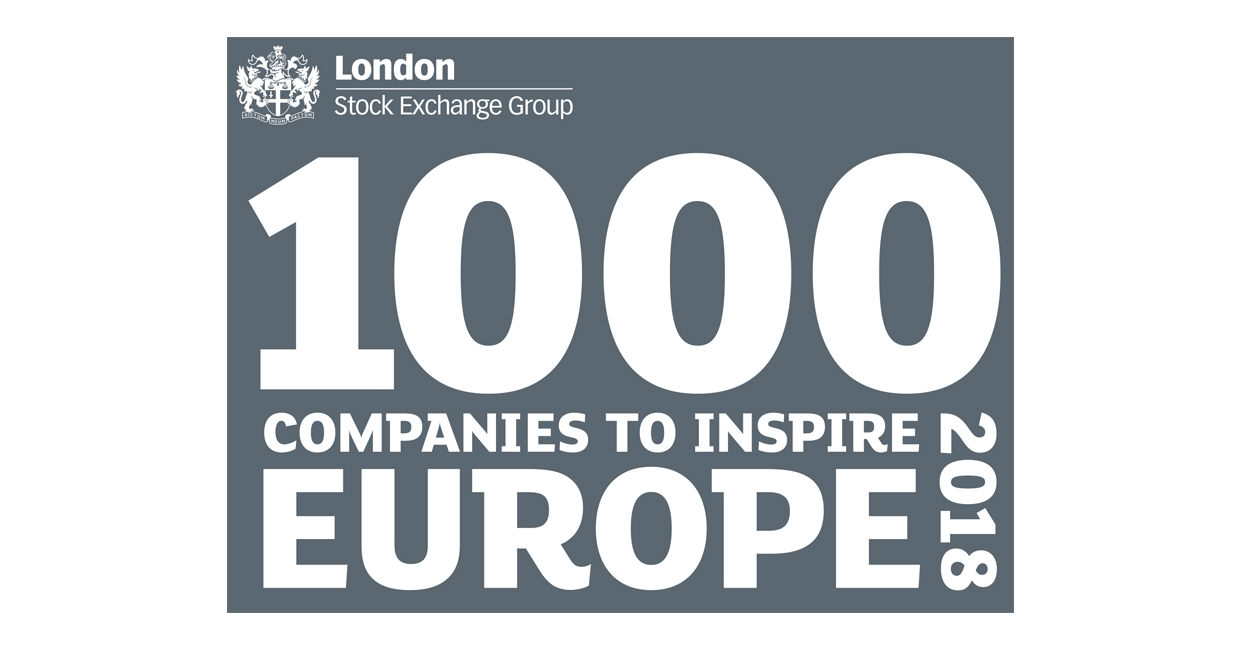 London Stock Exchange Group's 1000 Companies to Inspire Europe 2018 logo