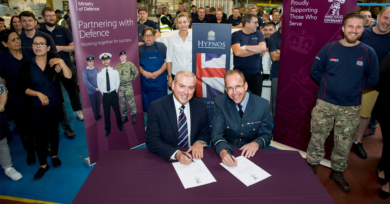 Hypnos signs Armed Forces Covenant