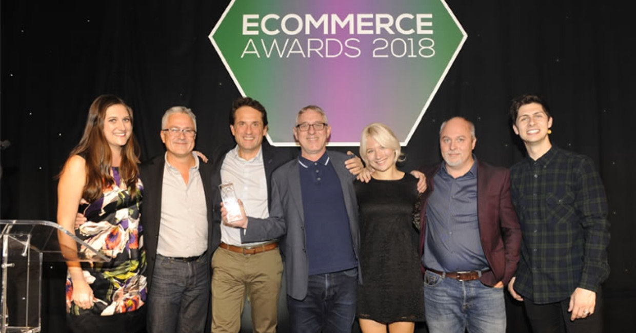 Arlo & Jacob's team at theeCommerce Awards for Excellence