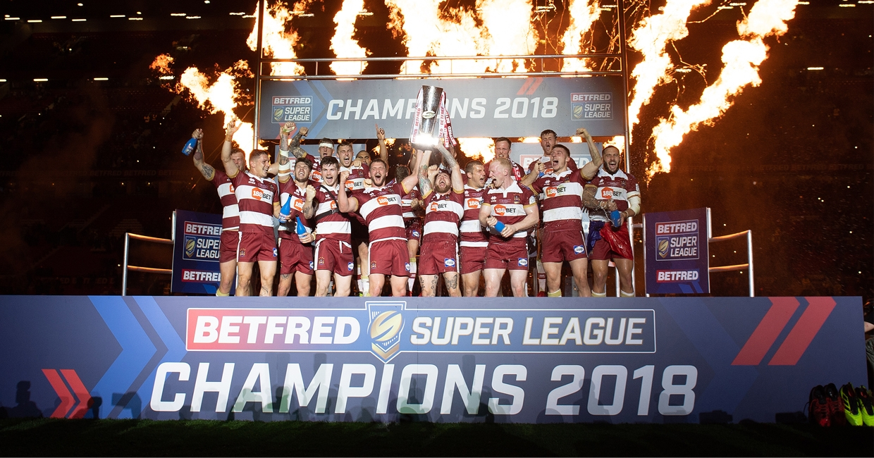 2018 Betfred Super League Champions, Wigan Warriors