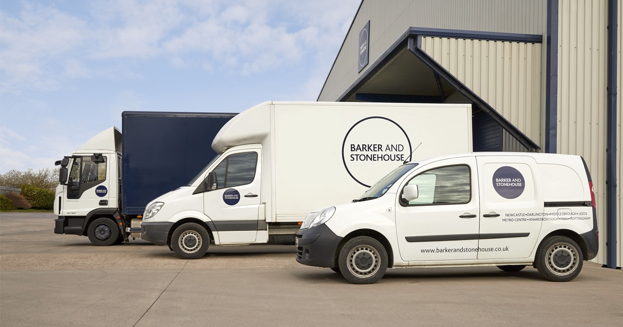 Barker and Stonehouse's vehicles