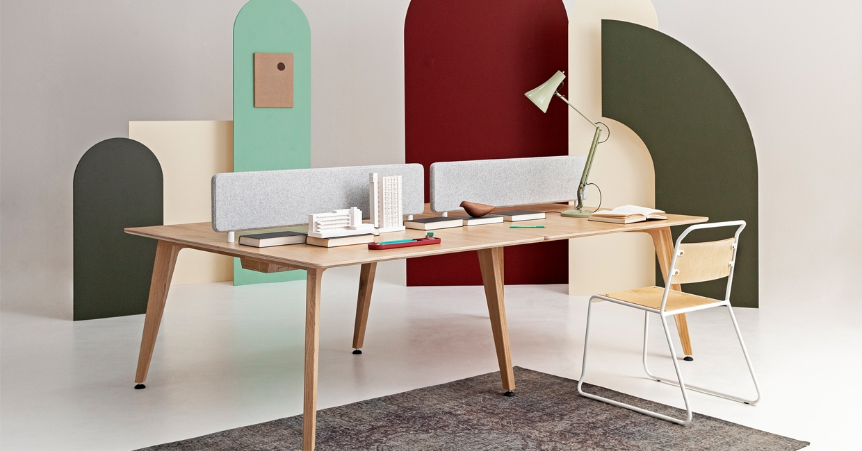 In Design: Cameron Fryu0027s Theodore Bench Desk System