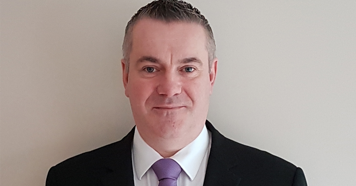 Declan McCarville, Sweet Dreams' new sales agent for the Republic of Ireland