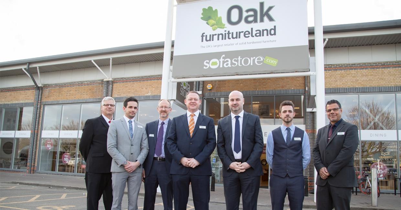 Oak Furnitureland's refurbished Cambridge store