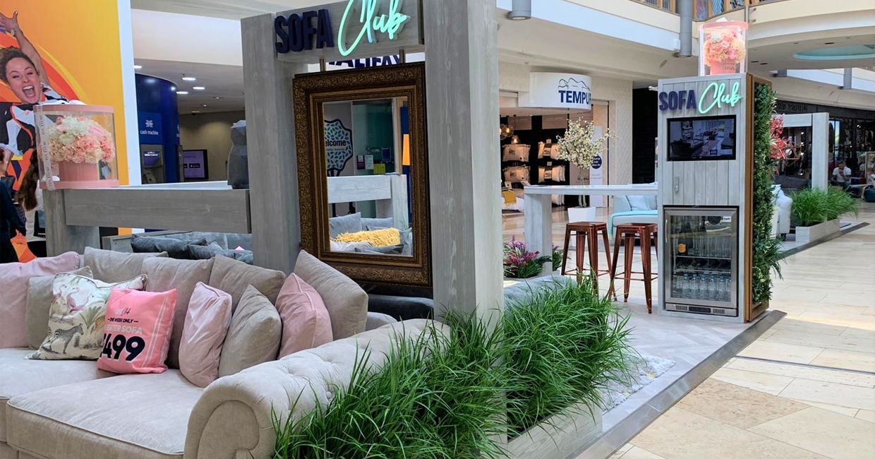 New Sofa Concept Pops Up At Bluewater