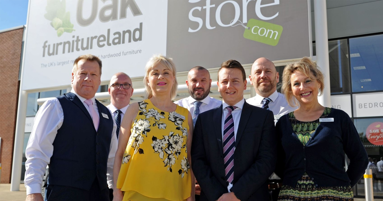 Oak Furnitureland's Doncaster team