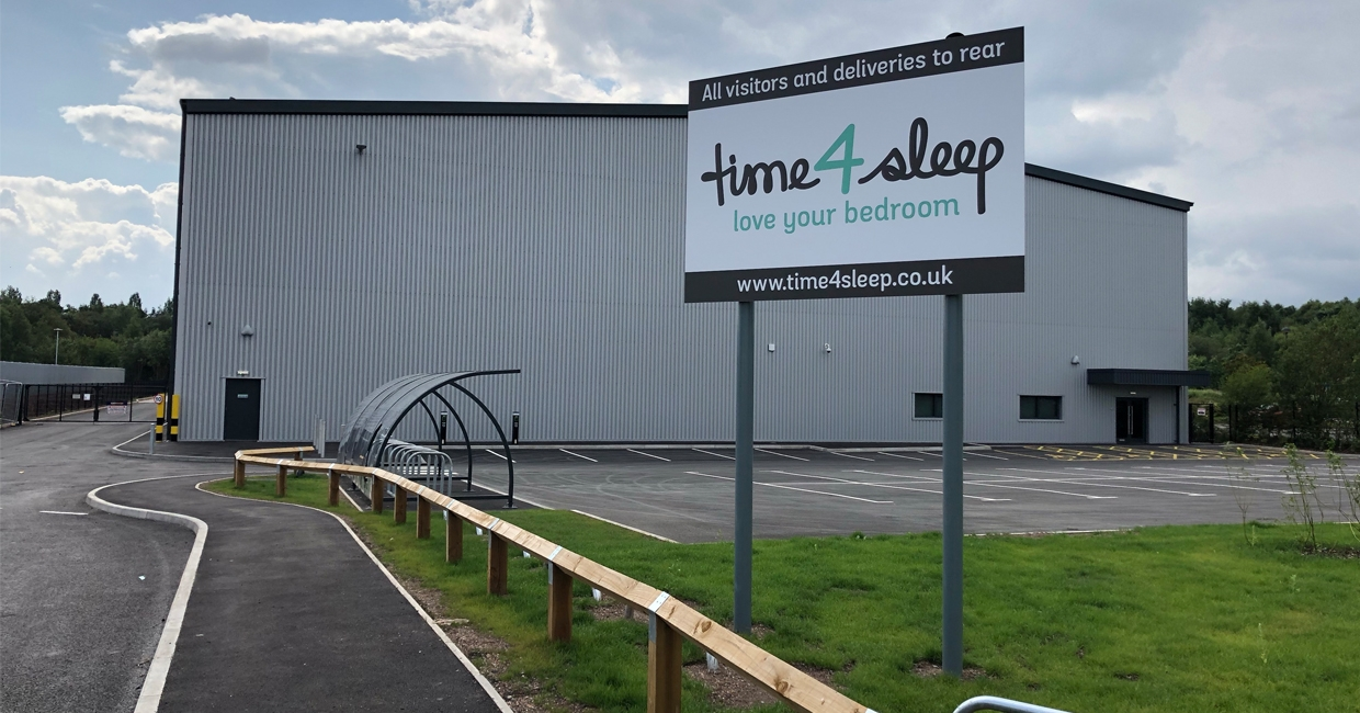 The new Time4sleep premises in Wolverhampton
