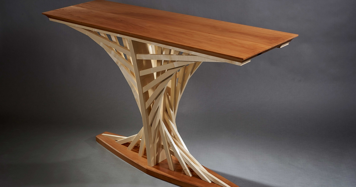 Charles Colbourne's Parabola side table