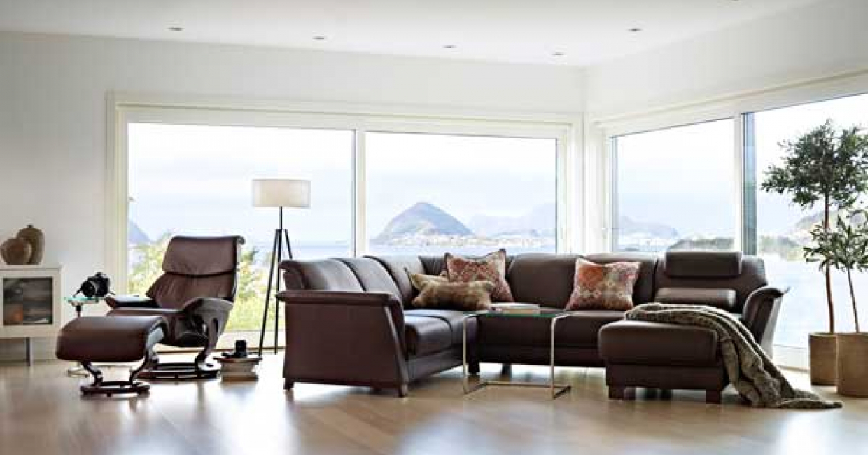 The Stressless E40 was seen as a very commercial model for the UK market by stockists