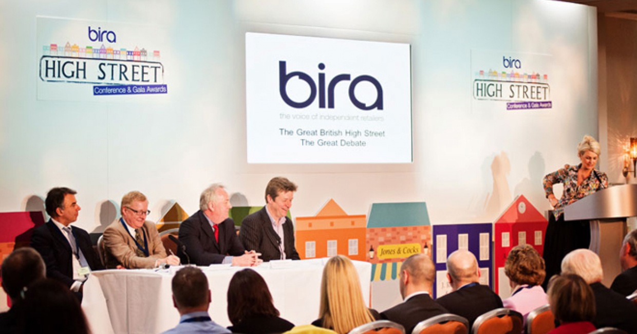 Jonathan Hopson (Camp Hopson), Jonathan Reynolds (Oxford Institute of Retail Management), Michael Weedon (deputy CEO and communications director, bira) and Chris Wade (Action for Market Towns) discuss issues affecting the high street