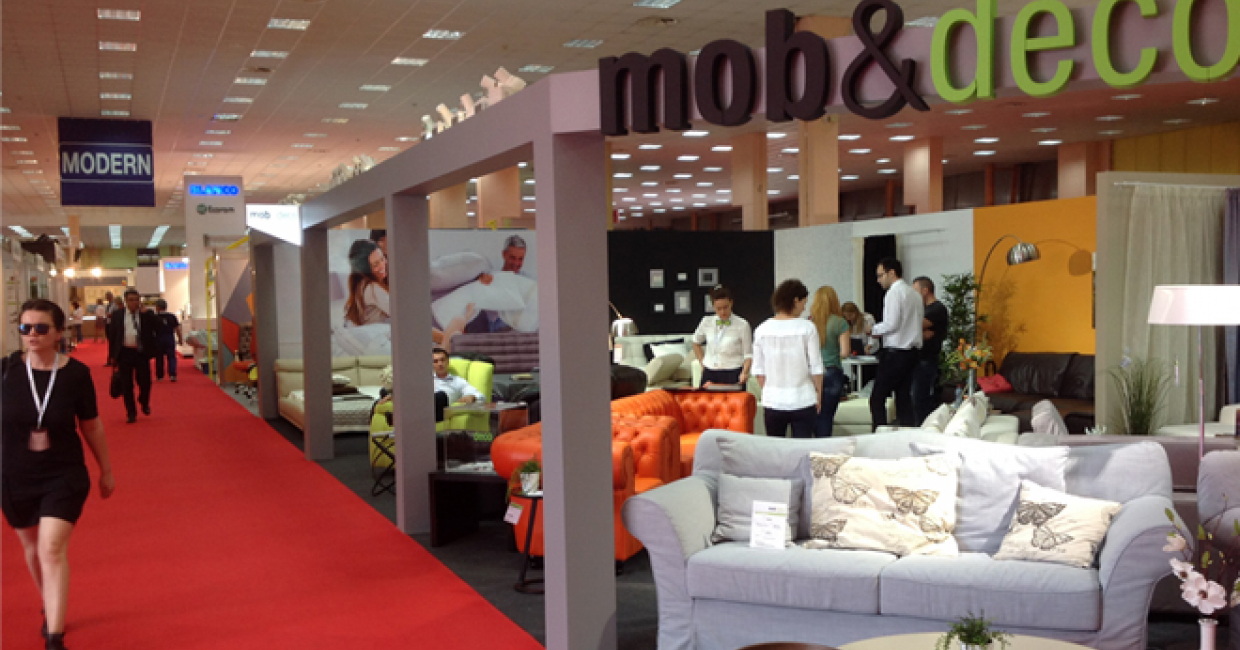 Joint Global Trade's Mob&Deco brand demonstrates Romania's upholstery expertise at BIFE-SIM