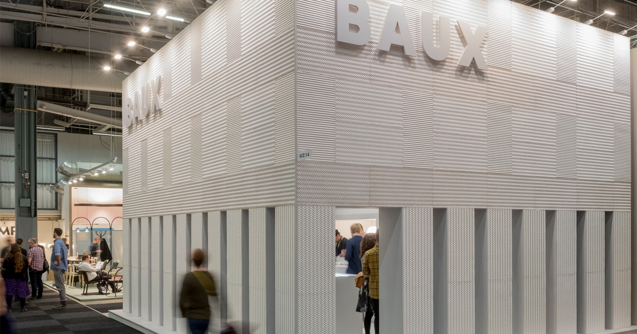 The show's best stand award went to Baux (photo by Gustav Kaiser)