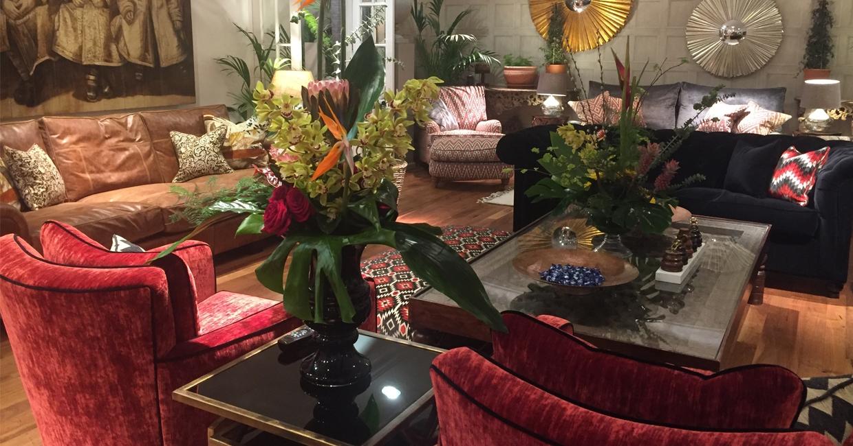 Duresta's captivating showroom