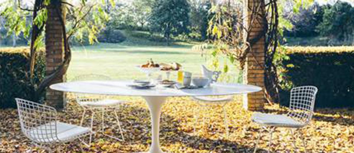 Knoll 39 S Saarinen Collection Goes Outdoor Furniture News