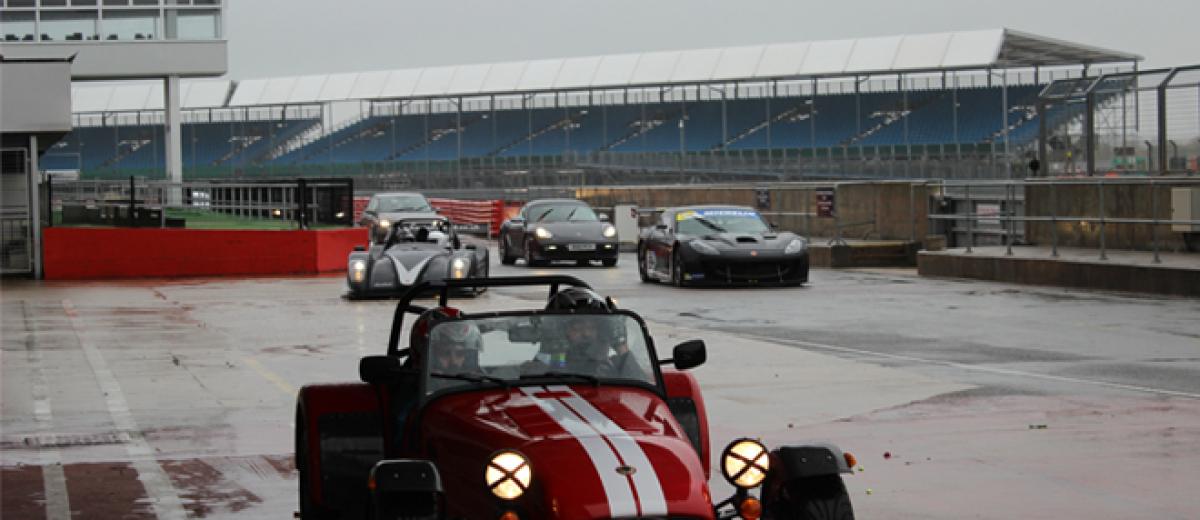 Competition winners enjoy racing masterclass