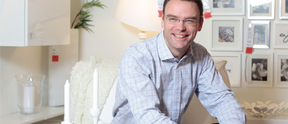 Ikea's Peter Wright on the book with benefits