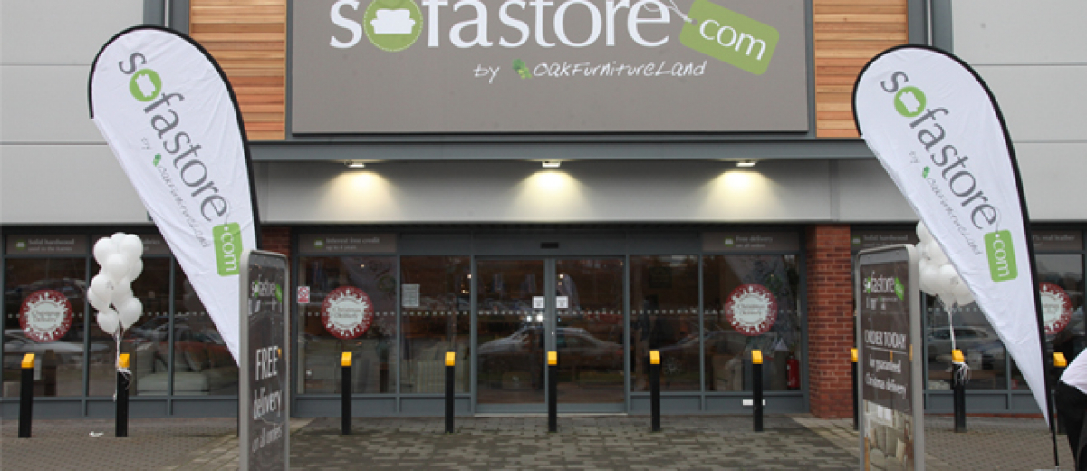Oak furniture retailer to launch 57 sofa showrooms on Boxing Day
