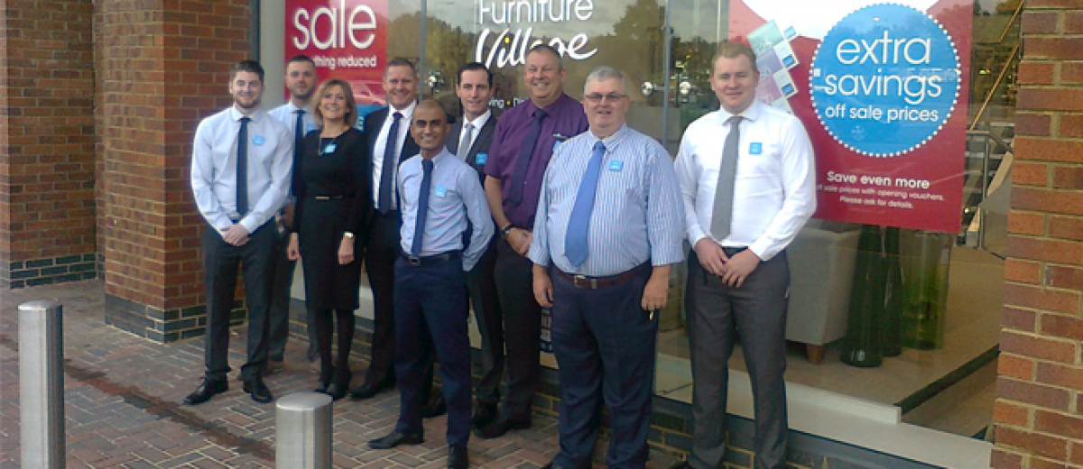 Furniture village opens new store in northampton for Furniture northampton