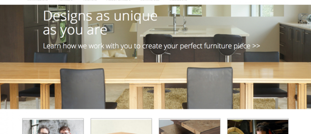 Dovetailors launches new website furniture news magazine for Website to sell furniture