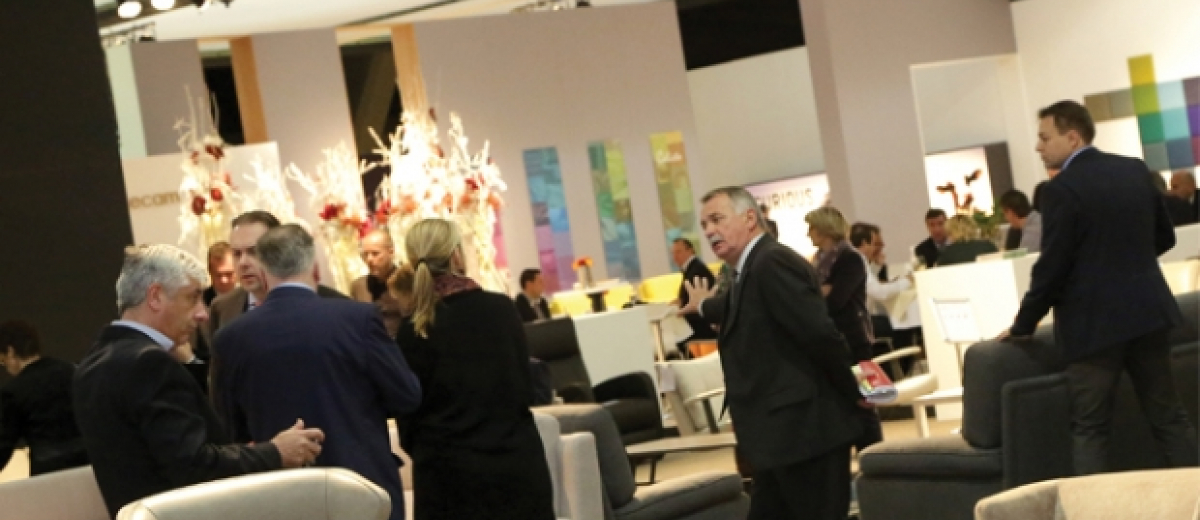 Slight increase in visitor numbers at brussels furniture for W furniture rental brussels