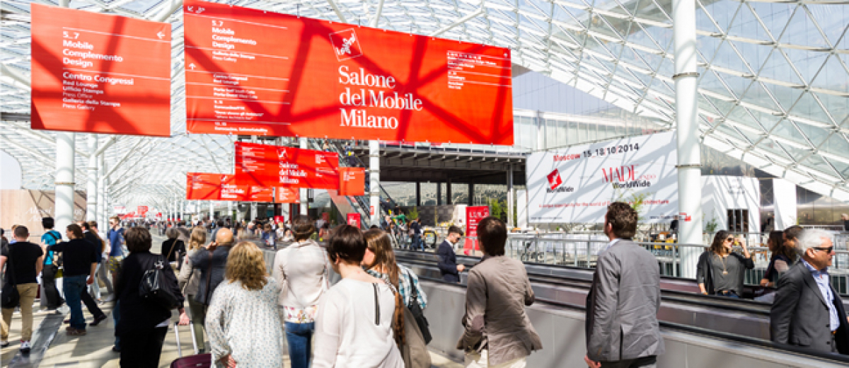 Salone del Mobile makes its mark