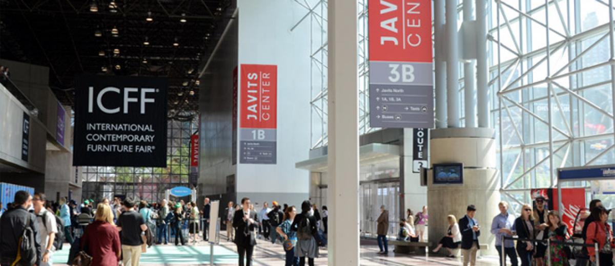 Icff enjoys success furniture news magazine for Icff exhibitors 2014