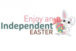 Enjoy an Independent Easter