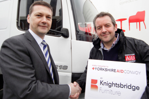 Knightsbridge lends aid to Eastern Europe