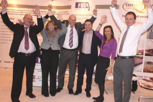 FIRA and the Furniture Makers skydive for charity