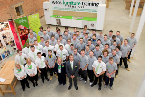 Webs Furniture Training apprenticeships on the rise