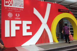IFEX - first impressions of Indonesia's new furniture fair