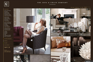 The Sofa & Chair Company launches its new website