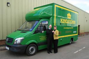 Kingstown's new show van sets off on UK expedition