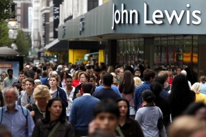 Strong sales growth for John Lewis around Mother's Day period
