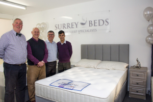 Founder of Surrey Beds sells his 25,000th bed