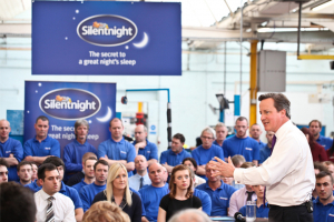 Prime Minster visits UK manufacturing success story Silentnight