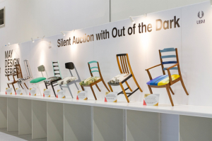 May Design Series' silent auction raises over £1000 for Out of the Dark