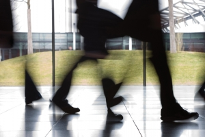 Footfall eases while vacancy rates fall