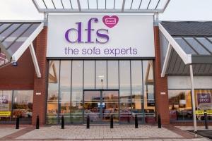 DFS sets share price range