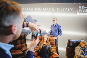 Natuzzi Re-vive celebrates pop-up store
