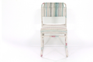 In Design: Macramé chair, Becks Sunderland