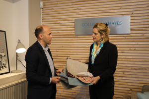 Collins and Hayes welcomes visit from Amber Rudd MP