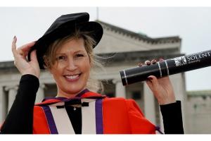 Vanessa Brady OBE receives honorary degree