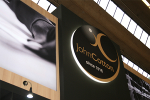 John Cotton launches centenary celebrations at Heimtextil