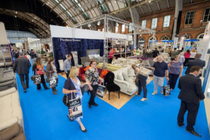 Main hall sell-out at Manchester Furniture Show