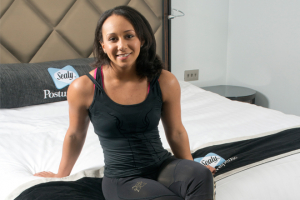 Sealy sponsors weightlifting champion