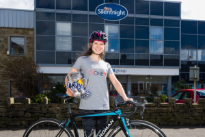 Silentnight sponsors young Barnoldswick cyclist
