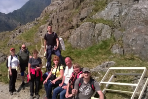 Slumberland's Snowdon climb for cancer