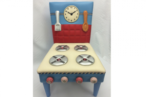 In Design: Sit & Play Cooker, Melanie Brooks