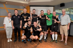 BrightHouse and Welcome Furniture win charity football tournament